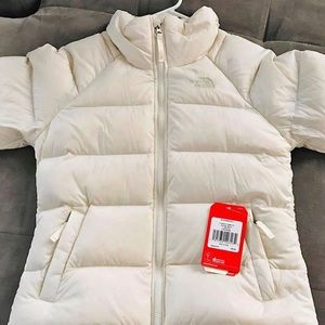 Brand new Vintage White North Face Coat